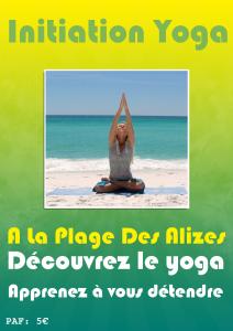 Initiation Yoga sur la plage dans Horaires flyer1-copia-212x300